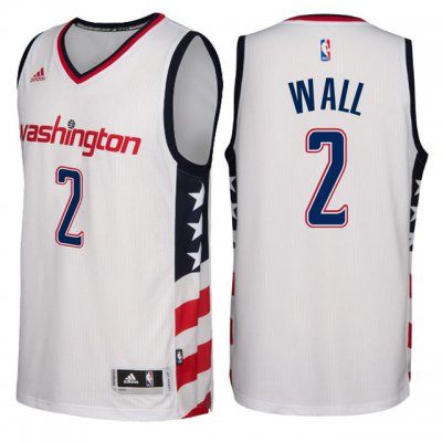 Shopping Jersey Washington Wizards #2 John Wall Revolution 30 Swingman White GAW4187