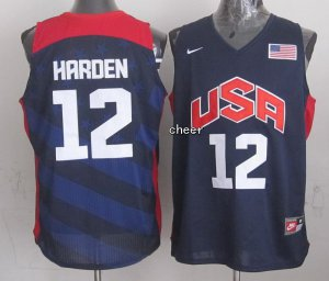 Smooth NBA The united States #12 harden Blue YIJ4087