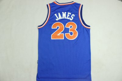 Temperament Apparel Lebron James Cleveland Cavaliers Throwback blue WFF1184