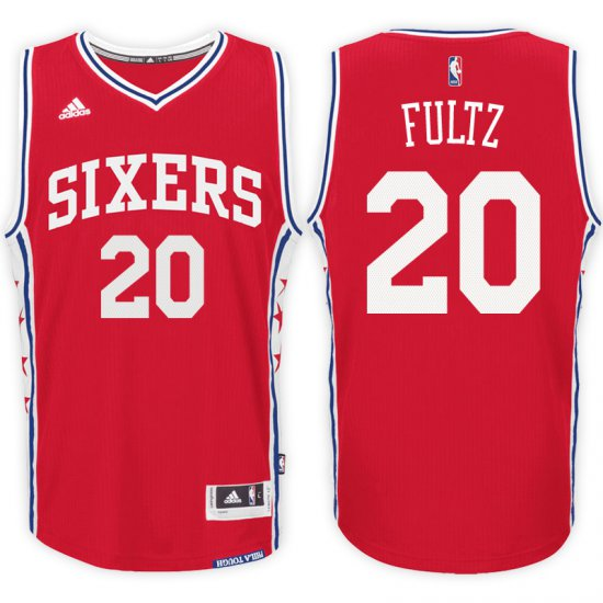 Top Quality Philadelphia 76ers  20 Markelle Fultz Merchandise 2017 18  Alternate Red Swingman GOY3214 fa783247c