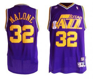 Unique design Malone Utah Jazz #32 purple Clothing PFR4159