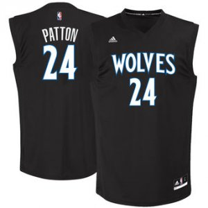Authentic Justin Patton Minnesota Timberwolves Basketball 2017 Draft #1 Pick Replica Black SDK2855