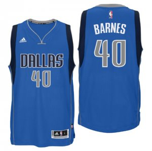 Best Cheap Dallas Mavericks #40 Harrison Barnes 2016 Basketball Swingman Road Blue GRR1271