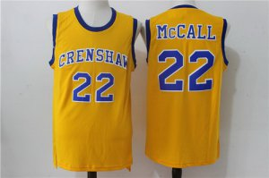 Buy Authentic The Clothing Movie Love & Basketball #22 Quincy McCall Yellow Soul Swingman Basketball GAR1447