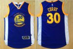 Buy cheap Golden State Warriors #30 Clothing Stephen Curry Revolution Blue VEO1647