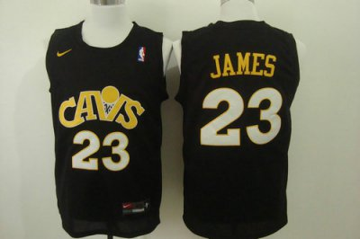 Cheap New Cleveland Cavaliers 23 LeBron Jersey James Black 2016 QLC1048