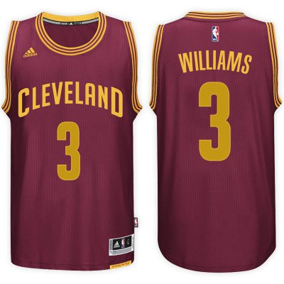 Cheap New Cleveland Cavaliers #3 Derrick Williams Basketball 2016 17 Road Wine Swingman JZF1026