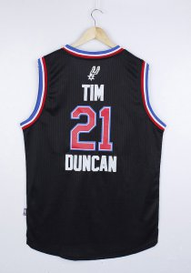 Cheap New Tim Duncan 2015 Basketball All Star Game black ELVA XDX157