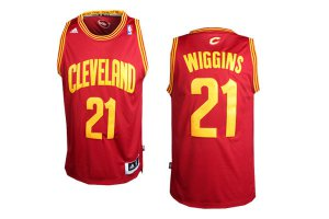 Discount Buy Cleveland Cavaliers 21 Andrew Wiggins Red Jerseys Revolution 30 SRC1216