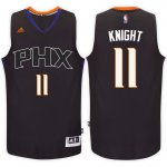 Hot Cheap Sale Phoenix Clothing Suns #11 Brandon Knight Black Alternate Swingman SHB3310