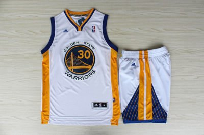 Lowest price guarantee 2013 Golden Merchandise State Warriors White #30 Suits DNS4427