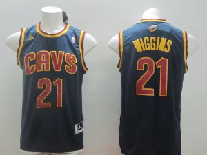 Online sales Apparel Andrew Wiggins Cleveland Cavaliers #21 Navy blue TLR1199