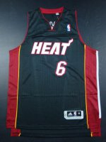 Online sales Miami Heat #6 Black Jersey JIJ2684