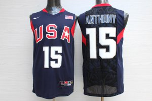 Shop Discount #15 Anthony Apparel 2008 Olympic USA Team navy blue AJX4057