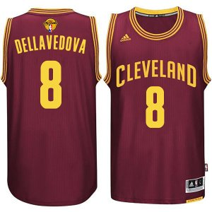 Shopping Cleveland Cavaliers Clothing #8 Matthew Dellavedova 2015 16 Finals Red JMS297