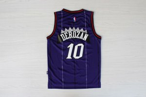 Tailored Toronto Raptors DeMar DeRozan Clothing throwback purple color VCG3914