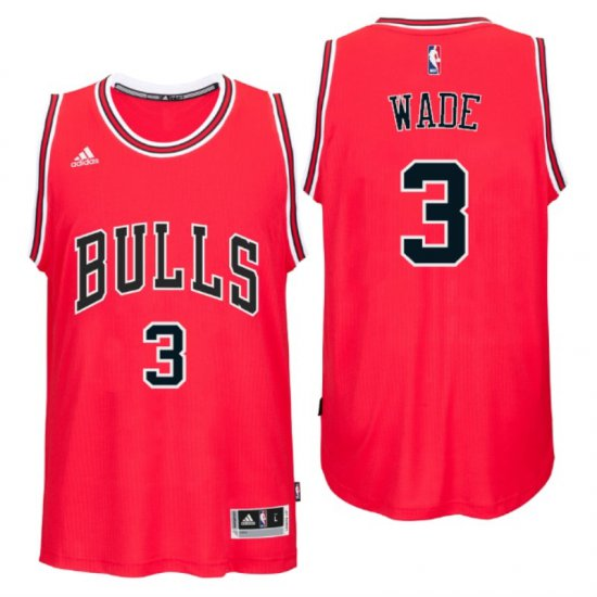 401b91362 The Cheapest Chicago Gear Bulls  3 Dwyane Wade 2016 Road Red Swingman  AZG692