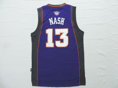absorbent Steve Jerseys Nash Purple 13 Swingman Phoenix Suns EKG3326
