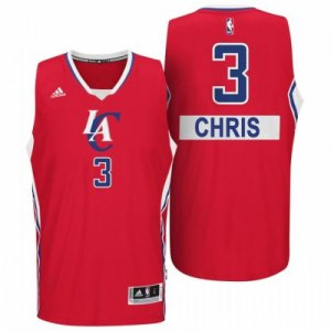 cheaper Los Angeles Clippers #3 Chris Paul 2014 Christmas Day Big Logo Gear Swingman Red JZD2303