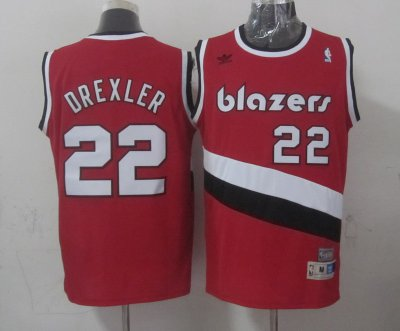 2018 New Arrive Apparel Portland Trail Blazers #22 derxler red RGE3477