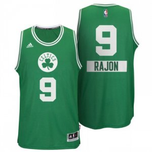 65% Discount Boston Celtics #9 Rajon Rondo 2014 Christmas Day Big Basketball Logo Swingman BGN468