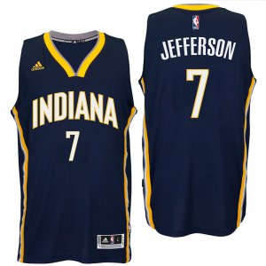 65% Off Indiana Pacers #7 Jersey Al Jefferson 2016 Road Navy Swingman OXG2004