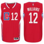 Best Gift Los Angeles Clippers #12 Jersey Louis Williams Road Red Swingman CJH2269