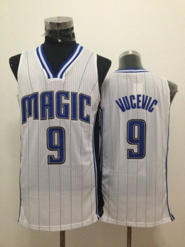 Big discount Orlando Magic Nikola 9 Vucevic white Basketball VGV3157