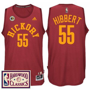 Buy Cheap Online Indiana Pacers #55 Roy Hibbert 2016 17 50th Season Red Hardwood Classics Throwback Basketball ANN1986