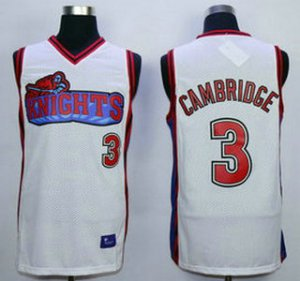 Buy Cheap Online The Movie Like Mike Los Angeles Knights 3 Calvin Cambridge White Swingman Clothing Basketball UTI1496