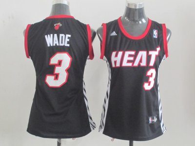 Buy Online Miami Heat 3 wade Clothing Black Women YRG4342