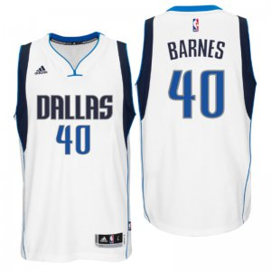 Discount on Dallas Mavericks #40 Harrison Barnes 2016 Apparel Swingman Home White ZXZ1267