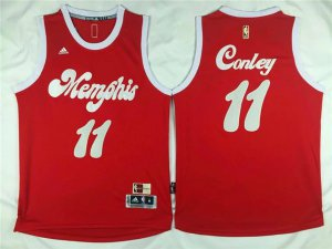 Discount on Memphis Grizzlies #11 Mike Conley Revolution 30 Swingman Merchandise 2015 16 Retro Red HND2552