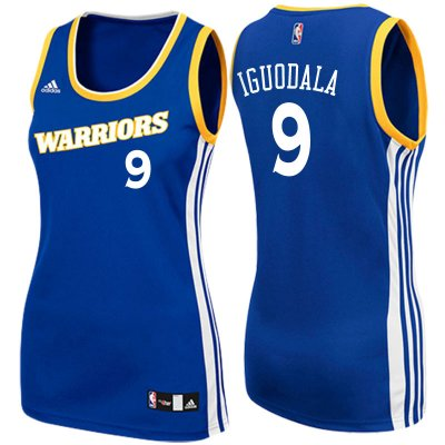 Good work Women's 2017 Mother's Day Golden State Warriors Jerseys #9 Andre Iguodala Crossover Royal Swingman JPY4240