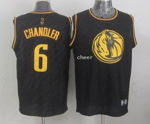 New Arrival Dallas Mavericks #6 chandler Merchandise black TSY1310