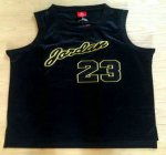 New Arrival Men 23 Michael Jordan All Jerseys Black With Gold Swingman Commemorative Basketball VGY1465