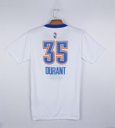 New Release Oklahoma City Clothing Thunder #35 Durant white QPJ3116