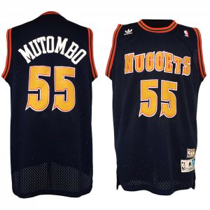 Newest Designed Merchandise denver nuggets 55 dikembe mutombo classics swingman black FHM1318