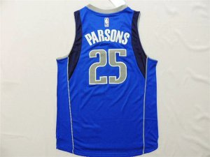 Promotional sale Dallas Mavericks #25 Chandler Apparel Parsons Swingman Road Royal Blue NWK1292