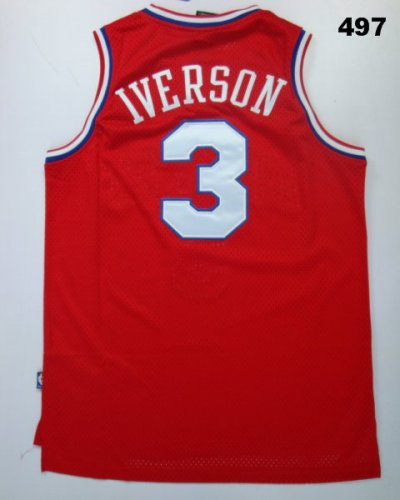 Quality assurance Clothing Superstar Allen Iverson 025 LHK102