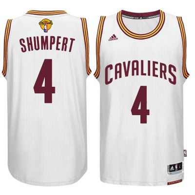 The Cheapest Cleveland Cavaliers #4 Iman Shumpert 2015 16 Jersey Finals White HJQ286