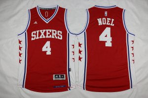 for wholesale Philadelphia 76ers 4 Nerlens Noel Revolution 30 Apparel Swingman Red LIX3257