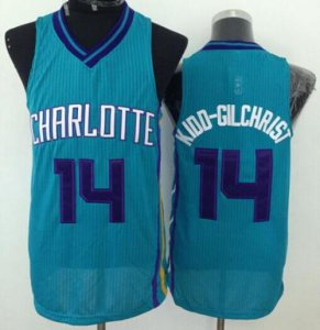 Beautiful Hornets #14 Gear Michael Kidd Gilchrist Purple Stitched GPF641