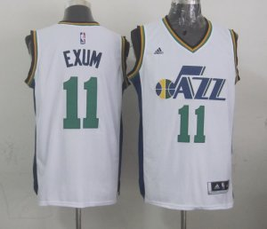 Beautiful Mens Utah Jazz NBA Gordon 11 exum white 2014 15 Swingman KSR4135
