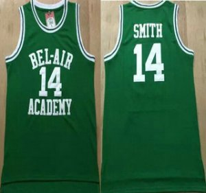 Cheap price The Movie Bel Air Academy 14 Will Smith Green Apparel Swingman Basketball UAL1490