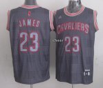 Discount Limited Jerseys Cleveland Cavaliers #23 James grey NPZ1151