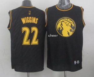 Discount holidays Gear Minnesota Timberwolves #22 wiggins black BGG2871
