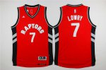Durable Revolution 30 Raptors #7 Merchandise Kyle Lowry Red Stitched ZQE3890