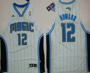 Free delivery Orlando Magic #12 Dwight Howard Apparel Revolution 30 Swingman White UIE3179