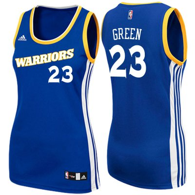 Genuine Women's 2017 Mother's Day Golden State Warriors #23 Draymond Green Jerseys Crossover Royal Swingman IHU4236